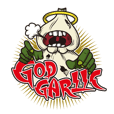 GOD GARLIC Official Original Sticker #01