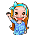 (English)Little girl, dear friend
