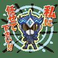 Genkai Warrior Genkaiser Sticker