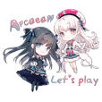 Arcaea Stickers