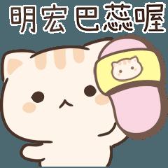 小星貓姓名貼-明宏專用