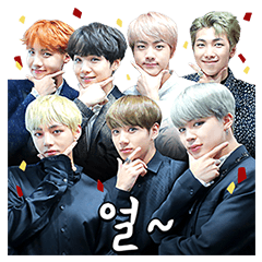 BTS Stickers