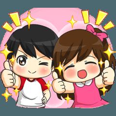 Jun-kun & Jane-chan