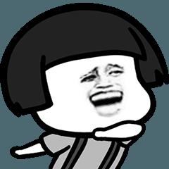 蘑菇頭經典表情7