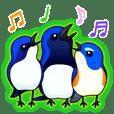 青い鳥3羽ルリトリオの敬語