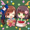 Miu&Sakura [ Hannan SCI Character ]