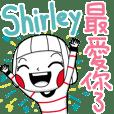 Shirley's sticker