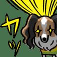 犬戦隊「ルンカーズ」の挨拶スタンプ