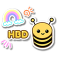 Happy Birthday & Happy Day : Animated