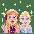 アナと雪の女王 ポップアップスタンプ