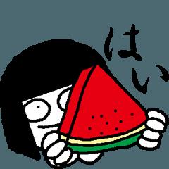 Hanako who is Showa, summer