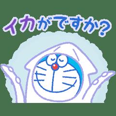 哆啦A夢 敬語動態貼圖
