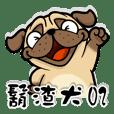 Hu slag dog 02 ( Pug)