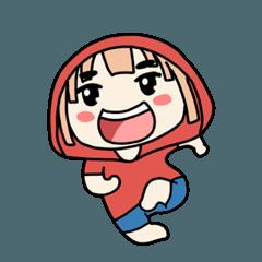 Red Hoodie : Airis