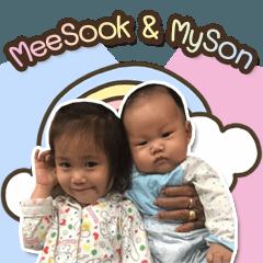 MeeSook & MySon