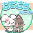 lion rabbit kotetori family