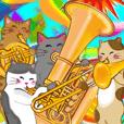 〜楽器〜金管楽器にゃん