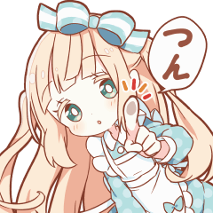 UGOKU HONWAKA Alice sticker