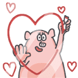 Hey Pig! Lover Dad I love you