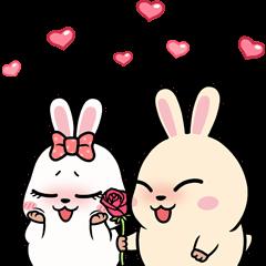 Mochi & Chimo (Cute Couple)