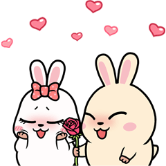Mochi & Chimo (Cute Couple)