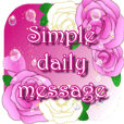 Simple daily message -elegant-