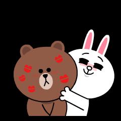 熊大&兔兔(最喜歡你了☆滿滿愛心篇)