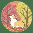 1コギの秋スタンプ