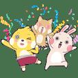 波波鼠與波特兔-日常實用貼圖特輯