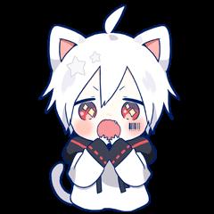 Mafumafu Animation sticker (cat)
