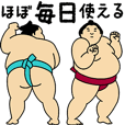 "A cute Sumo wrestler animation ""Daily"""