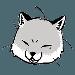 """Sennen Kitsune From Sojinki""sticker"