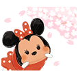 Disney Tsum Tsum Sakura bergerak!