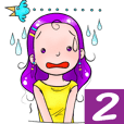 Violet girl friend EP2