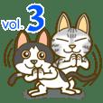 アメショー猫のポテト3