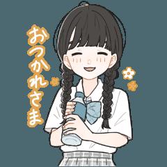 Margarine`s LINE Sticker