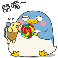 傳說中的企鵝咚咚來囉~咚咚與胖胖日常