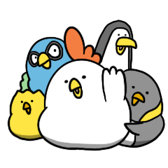 everyday debudori (BIG characters)