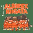 ALBIREX NIIGATA PLAYERS STICKER