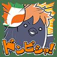 LINEスタンプランキング(StampDB) | ハイキュー!!ヒナガラス