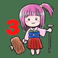 のんちゃんスタンプ(3)