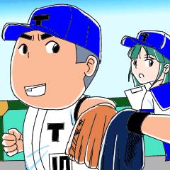 Let's go T-kou Baseball team 2