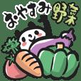 Japanese puns with a Panda