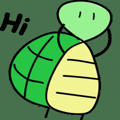 簡單的龜龜動起來啦