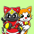 Nyankichi and Kagemaru LINE stickers!