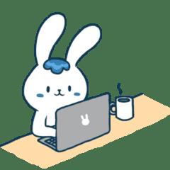 漢尼拔 - 一隻熱愛美食與工作的兔兔