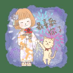 愛旅行小姐與貓