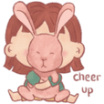 Girl sandee & bunny