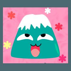 Mount Fuji's truely emotions.