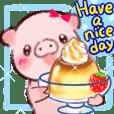 可愛的小豬!